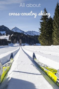 Three cross-country ski runs, 50 km and teams, whomake sure it's all prepared during winter. Mountain Village, Mountain View, Cross County, Ski Touring, Alpine Skiing, Cross Country Skiing, Just Run, Winter Activities, Winter Sports