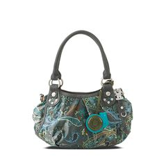 I Say Paisley // You Say Nora! in color: thames teal
