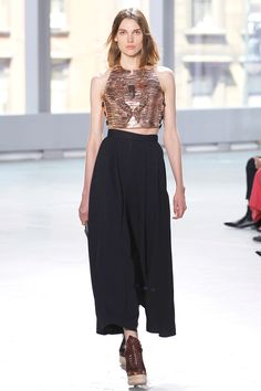Proenza Schouler Spring 2014 RTW - Runway Photos - Fashion Week - Runway, Fashion Shows and Collections - Vogue