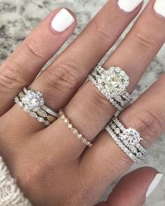 We gave you the most popular wedding dress on Pinterest and now, we've sharing its engagement ring counterpart - The Verragio setting created by Raymond Lee Jewelers. It comes in at number one with an astounding 63,000 pins.