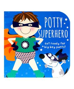 Potty Superhero: Get ready for big boy pants! (Potty Book) by Parragon Books. Every little superhero needs to use a potty, he just needs to know how to go! Help your own little superhero as he makes the journey toward wearing big boy undies. Potty Training Books, Toilet Training, Toddler Training Pants, Best Toddler Books, Superhero Books, Superhero Classroom, Best Potty, Boys Pants, Big Boys