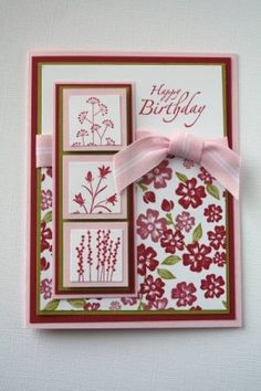 Stampin Up Pocket Silhouettes