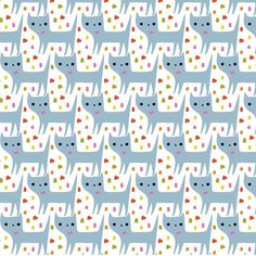 Cats! I do love cats, except for when my kitty Mei Mei meows early in the morning to be let out!! grrrr! but still, she's lucky she is a cutie pie!  #3 of 100 #100daysofpattern Do you have a cat that wakes you up too? Or does your cat sleep on your pillow