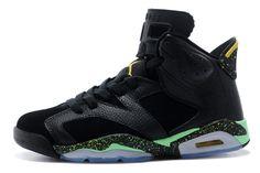 90854531f18295 Air Jordan 6 Retro Women s Shoes black green  womensairjordan6retro 001  -   83.99   USA sales