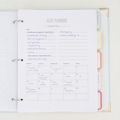 How I organize my blogging