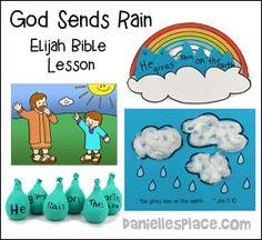 57 Best Elijah Bible Craft for Children's Sunday School images