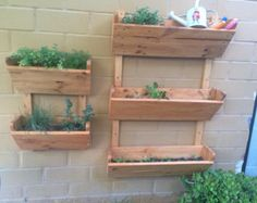 Image result for hanging planter boxes