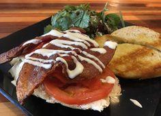 Smoked Salmon & Bacon #Sandwich
