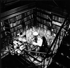 The Fiction Alcove, the perfect spot to get lost in.   15 Gorgeous Photos Of The Old Cincinnati Library