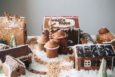 gingerbread farm
