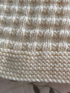 Such a sweet and practical baby blanket - for a boy or girl
