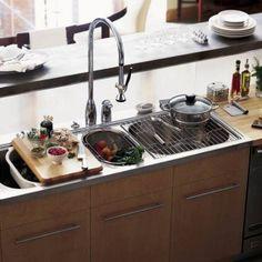 9 best Kitchen Sinks images on Pinterest | Contemporary unit ...