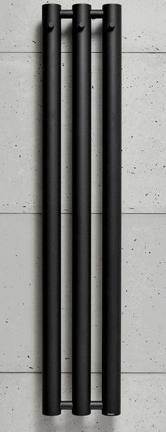Grzejnik łazienkowy biały 29,2x150 cm PMH Rosendal Massive R70/3W wyposażenie łazienek www.kaczucha.pl