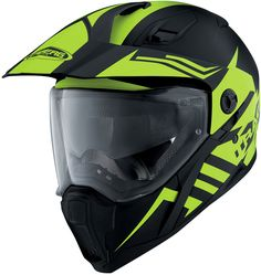 Caberg X-Trace Lux - Matt Black/Fluo Yellow at Helmet City