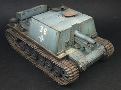 Sig33B with Panzer III