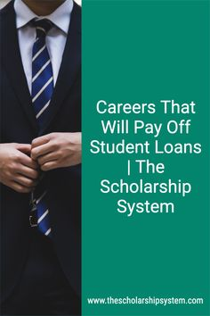 Student loans are a burden. They are often large debts, leaving borrowers saddled with massive monthly payments for years, even decades. And that's what makes finding careers that will pay off student loans enticing.While it sounds like a thing of myth, these options actually do exist. There are careers that will pay off student loans, as long as your child meets the criteria.