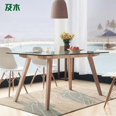 Furniture Of America Marion Rectangular Glass Top Dining Table Endearing Rectangular Glass Dining Room Tables Design Decoration