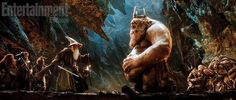 A New Still From THE HOBBIT: AN UNEXPECTED JOURNEY Shows Gandalf and the Goblin King