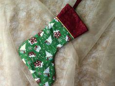 Weihnachten - Nikolausstiefel, Wichtelstiefel - ein Designerstück von kleine_Kuschelrobbe bei DaWanda