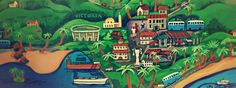 Painting - One Sunny Day in Mahe by Nip Rogers