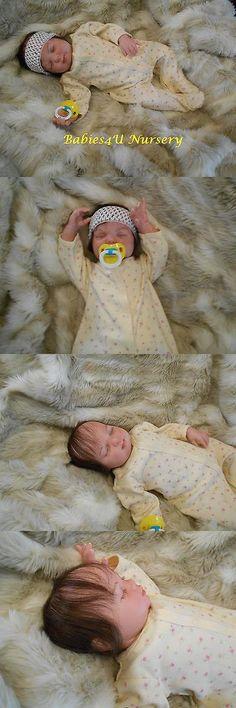 Dolls And Bears: Reborn Baby Girl Realistic Lifelike By Babies4u Nursery BUY IT NOW ONLY: $190.0 #priceabateDollsAndBears OR #priceabate