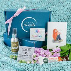 View all of Mama Moment's self care boxes - subscription and individual boxes. Each one is like a hug in a box! Mindfulness Colouring, Sleep Spray, Care Box, Give Peace A Chance, Affirmation Cards, Natural Deodorant, Little Boxes, Home Made Soap, Make Time