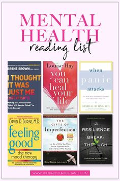 This reading lists includes 10 of the best mental health books for women with anxiety, depression, eating disorders, or other forms of mental illness. From understanding depression to the importance of self-love, these books can change your life by helpin