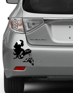 Pretty Beach Mermaid Girl Decal Sea Life Beach Life Vinyl Car - Mermaid custom vinyl decals for car