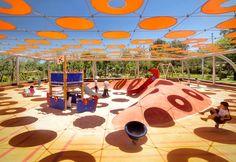 Indigo Park Playgrounds   Ballistic Architecture Machine (BAM)   Landezine