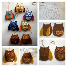 These Felt Owl Lavender Sachet are so cute. Little Lark Lavender Sachet Click below link for translated tutorial…. Lavender Crafts, Lavender Sachets, Lavender Ideas, Diy Sewing Projects, Sewing Crafts, Pallet Home Decor, Owl Templates, Felt Owls, Christmas Sewing