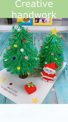Simple Life Hack Easy DIYS Christmas Card|If you like our vedios,we sincerely hope you can follow me,Thank you very much for watching my pinterest,like my video picture sharing, follow me,I will always update different DIYS Christmas Card. If you want buy some products cheap, you can click on the video or picture to enter my store and tell me that you came here through Pinterest. I will give you a big discount. Thank you. #hacks#lifes#diy#tips#ideas#diy #handmade #n #art #homedecor#diycrafts
