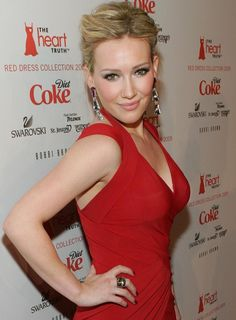 Hilary Duff al The Heart's Truth Red Dress Collection Fashion Show nel 2009