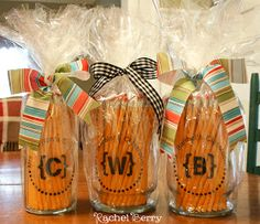 The Rachel Berry Blog: { Teacher Gifts For The 1st Day Of School }