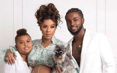 ': Keyshia Cole Welcomes Baby Boy with Boyfriend Niko Hale Welcome Baby Boys, New Baby Boys, One Month Anniversary, Happy Merry Christmas, R&b Artists, Keyshia Cole, Beautiful Family, Beautiful Things