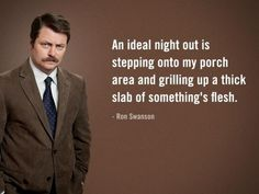 "16 Best Ron Swanson Quotes from His ""Pyramid of Greatness"" Pics) Ron Swanson Pyramid, Pyramid Of Greatness, Ron Swanson Quotes, Parks And Recs, Yearbook Quotes, Simple Man, I Love To Laugh, Parks And Recreation, The Funny"