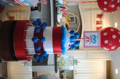 Thing 1/Thing 2 Twin Baby Shower