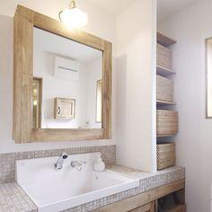 Bathroom/無印良品/照明/ナチュラル/洗面台/収納...などのインテリア実例 - 2017-10-23 13:02:11