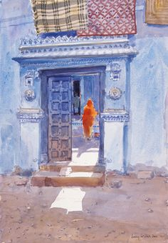 Remembering Bhuj by Lucy Willis - art print from Easyart.com