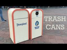 Disneyland Trash Cans - YouTube