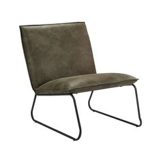 Fauteuil Cooper - leatherlook - olijfgroen Outdoor Chairs, Dining Chairs, Outdoor Furniture, Outdoor Decor, Barcelona Chair, Love Seat, Accent Chairs, Living Room, House Styles