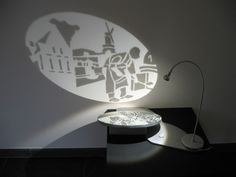Shadow and Light Sculptures Light Art Installation, Artistic Installation, Art Deco Vanity, Modern Bathroom Lighting, Textile Sculpture, Dramatic Lighting, Shadow Art, Grid Design, Fluorescent Lamp