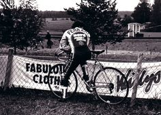 Virginio Ferrari by bicycle