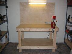 DIY Ammunition Reloading Bench