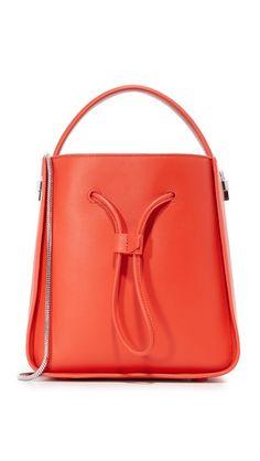 6d9fd543a4d4 3.1 Phillip Lim Soleil Bucket Bag Red Shoulder Bags