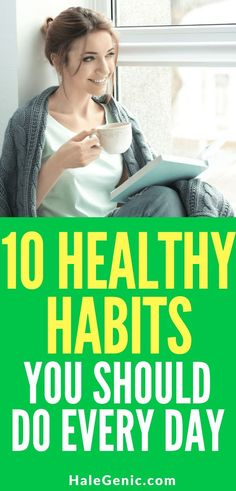 10 Healthy Habits Yo