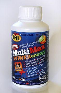 Soutěž o doplněk stravy MultiMax POWERenergy