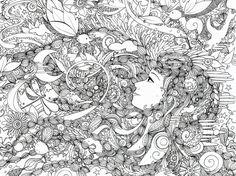 Hope you like it. xx Original A3, ink, 15 hours