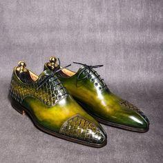 Richelieu Asymétriquement tressé - Oxford shoe Asymetricaly braided