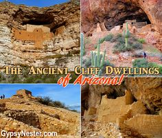 South Central Arizona is generously sprinkled with ancient ruins left behind by the Native Americans of the area... http://www.gypsynester.com/ir.htm #arizona