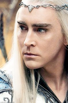 Thranduil (Lee Pace) - It's the writers' job to make it positive. It's my job to make it real. Lee Pace